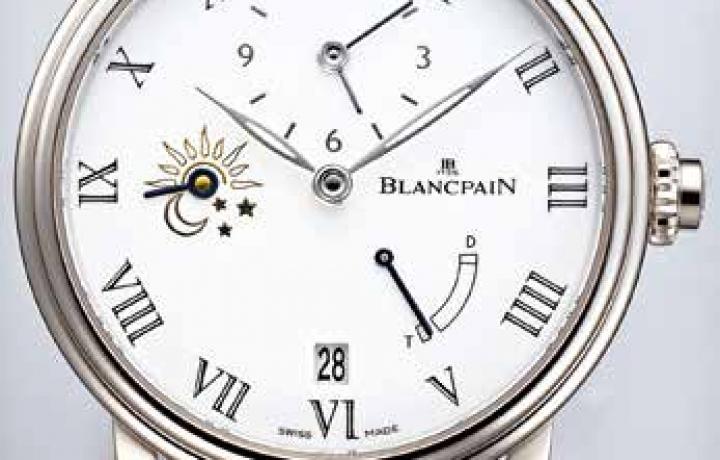 宝珀 BLANCPAIN八日长动能半时区调校 两地时间腕表
