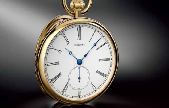 浪琴 Lépine机芯180周年纪念怀表