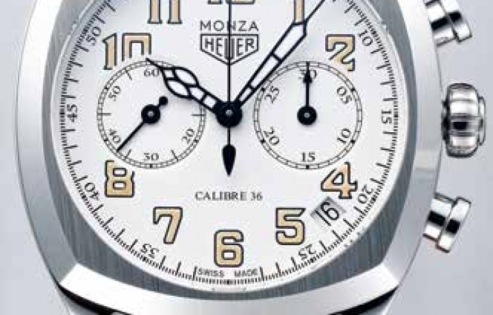 泰格豪雅TAG HEUER Monza Calibre 36 腕表