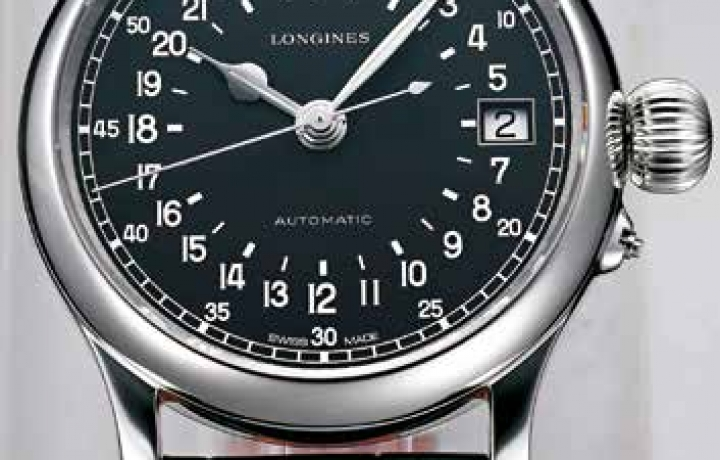 浪琴LONGINES Twenty-Four Hours瑞士航空复刻表