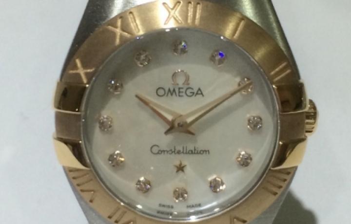 欧米茄女士镶钻手表卓越品质