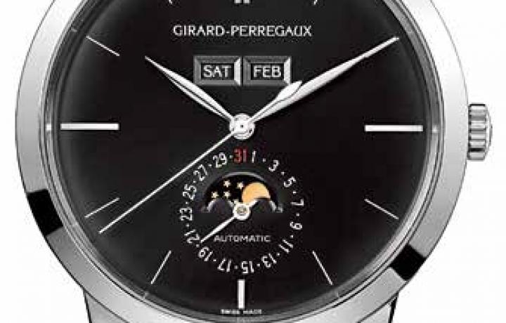芝柏GIRARD-PERREGAUX 1966 Full Calendar腕表