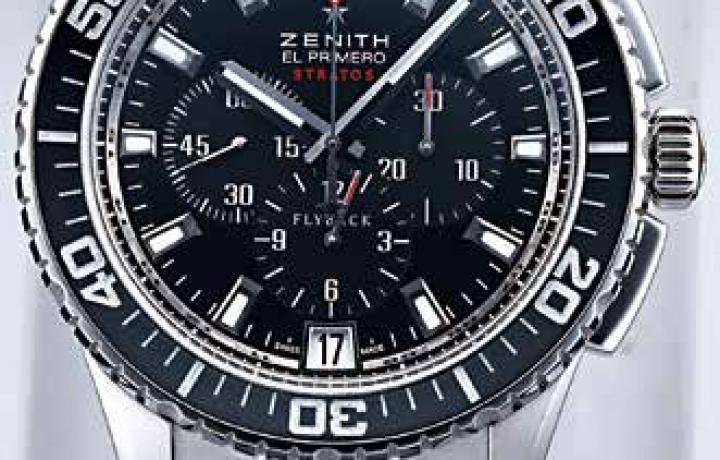 真力时ZENITH El Primero Stratos飞返计时秒表