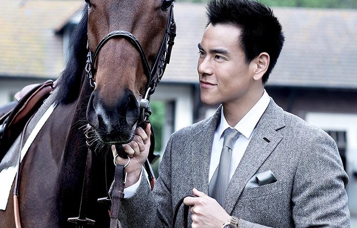 彭于晏自2014年起担任浪琴表优雅形象大使。他的天生气质、俊朗外表与超凡魅力充分展示了浪琴表始终如一的优雅价值观。