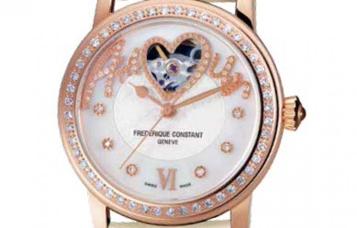 康斯登FREDERIQUE CONSTANT Ladies Heart Beat Collection女装心跳系列腕表