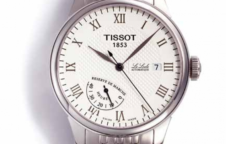 天梭TISSOT Le Locle Power Reserve腕表
