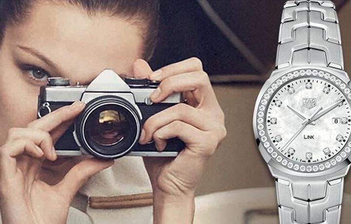 巴黎超模贝拉·哈迪德佩戴的腕表