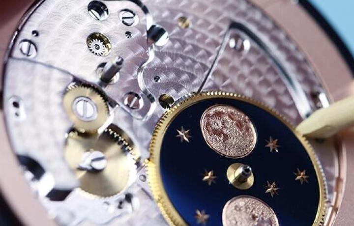 月相大秒针(GRANDE SECONDE MOON) 感悟时间的魔力