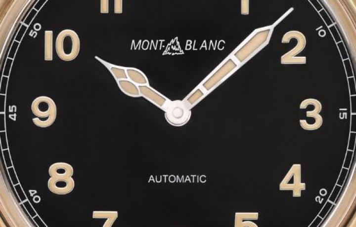 万宝龙1858系列自动上链腕表