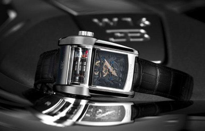 帕玛强尼 BUGATTI TYPE 390 发动机组型腕表