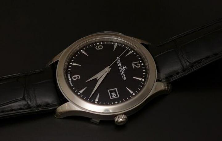 积家Master Control黑面钢款腕表