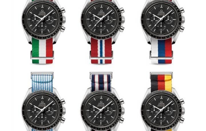 欧米茄奥运限量款腕表适配NATO带发布