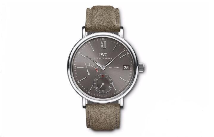 两款全新推出的万国柏涛菲诺八日动储腕表