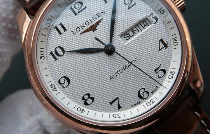 浅析浪琴瑰丽系列手表 堪称大师之作