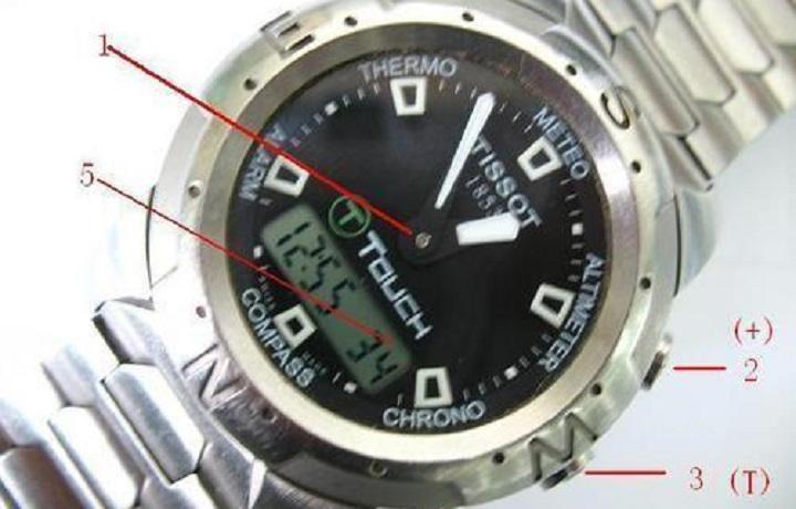 什么?你还不会调整天梭触摸屏手表的时间?