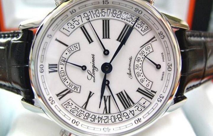 浪琴手表复古系列怎么样?如何调整时间?