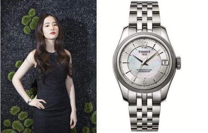 天梭刘亦菲同款手表 尽显女神典雅柔媚之美