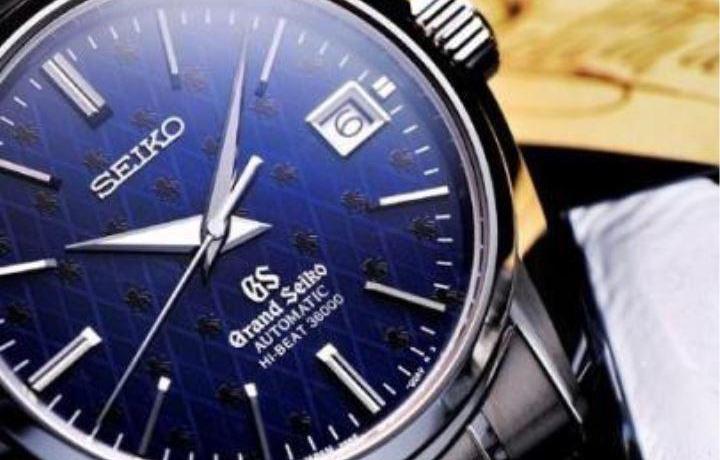日本铜磬自鸣钟——精工GS男款机械腕表系列