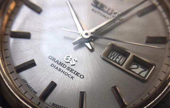 精工GS腕表系列,亚洲制表工艺巅峰