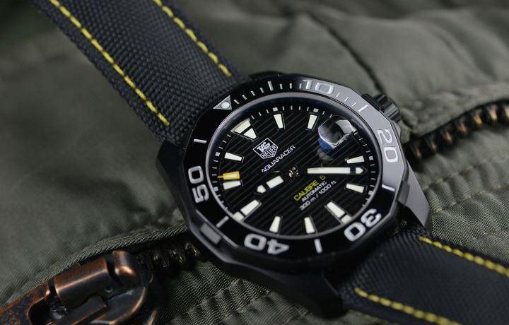 泰格豪雅碳纤维竞潜腕表,男人就要与众不同