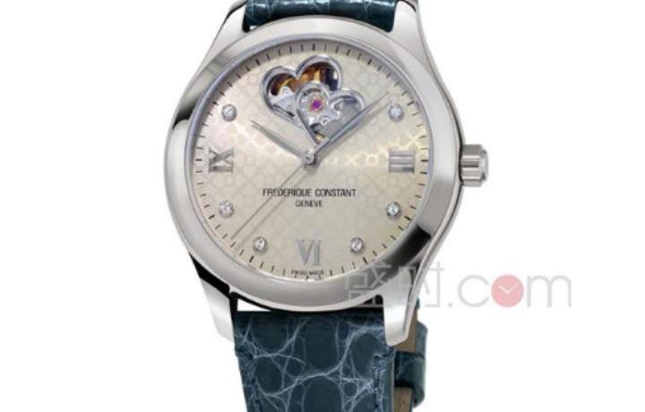 康斯登机械女款手表色彩夺目清新活力