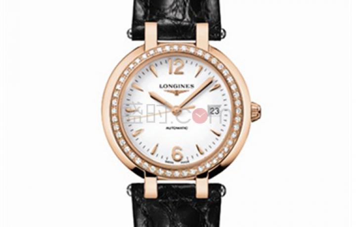 涨姿势!浪琴心月系列手表,衬托完美女性