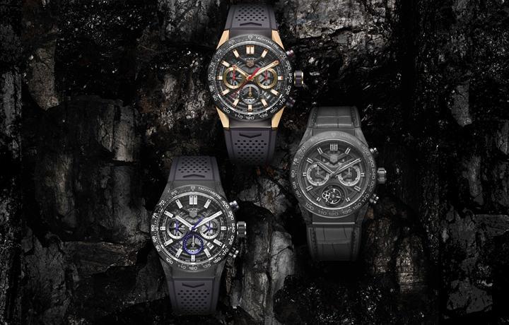 TAG Heuer泰格豪雅推出全新Carrera(卡莱拉系列) 碳纤维限量版腕表