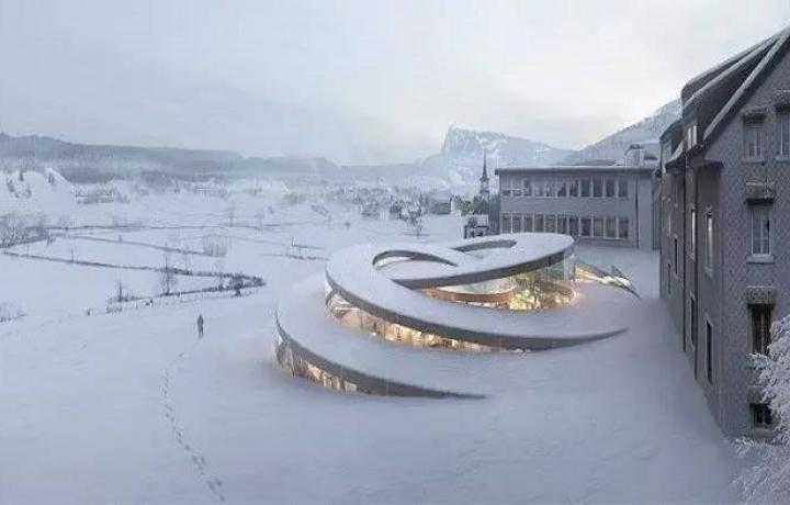 冷得不想动?看看瑞士人在严寒中创造出了什么奇迹!?