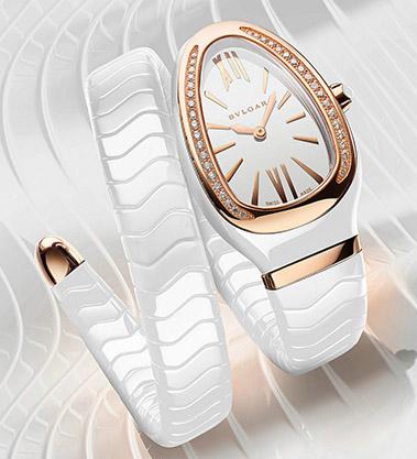 宝格丽感恩节腕表推出陶瓷腕表