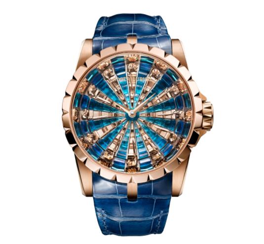 罗杰杜彼手表中的传奇-圆桌骑士手表