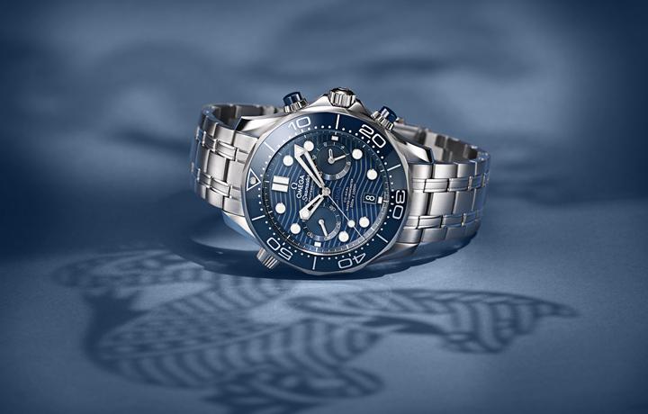 潛水時計創新融合——歐米茄全新海馬系列300米潛水計時表