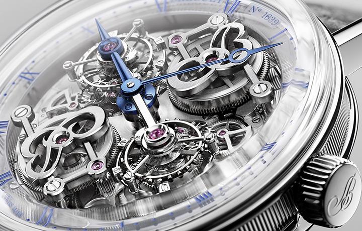 宝玑Classique经典系列5345双旋转陀飞轮  钟表堤岸腕表