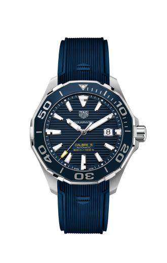 TAG Heuer泰格豪雅Aquaracer竞潜300米自动腕表陶瓷表圈款
