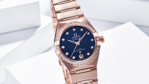 Omega欧米茄星座系列曼哈顿女士腕表