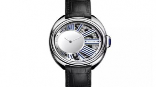 CARTIER卡地亚Clé de Cartier神秘小时腕表