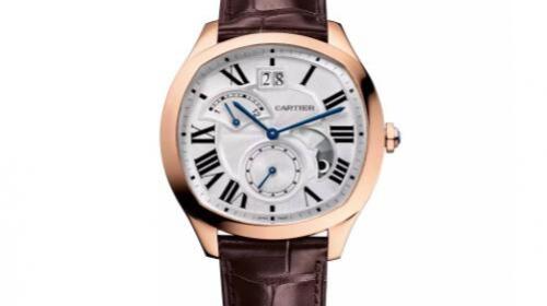 CARTIER卡地亚Drive de Cartier大日历双时区昼夜显示腕表