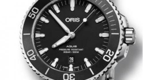 ORIS豪利时 Aquis 日历腕表