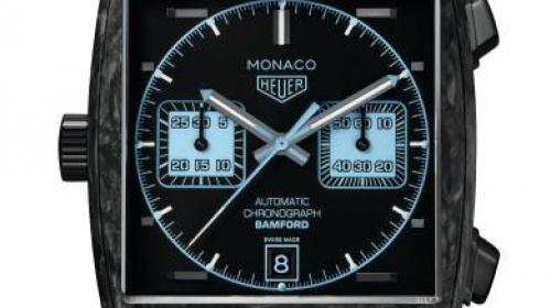TAG Heuer泰格豪雅摩納哥系列Bamford腕表