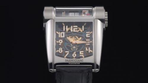 帕玛强尼Parmigiani Bugatti Type 390发动机组型腕表