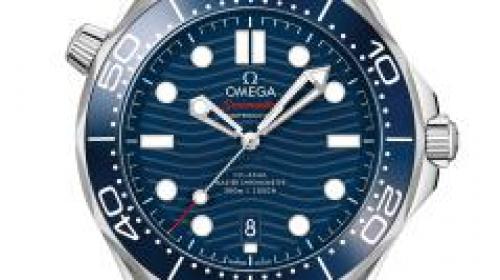Omega欧米茄海马系列300米潜水腕表