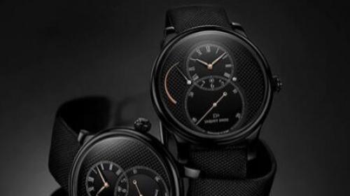 Jaquet Droz雅克德羅巴黎格紋陶瓷動力儲存大秒針腕表
