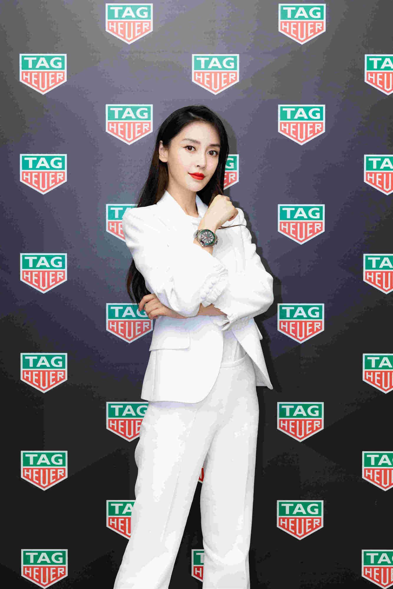 TAG Heuer泰格豪雅携手全球品牌大使Angelababy 亮相2019赛季中国足球协会超级联赛开幕式