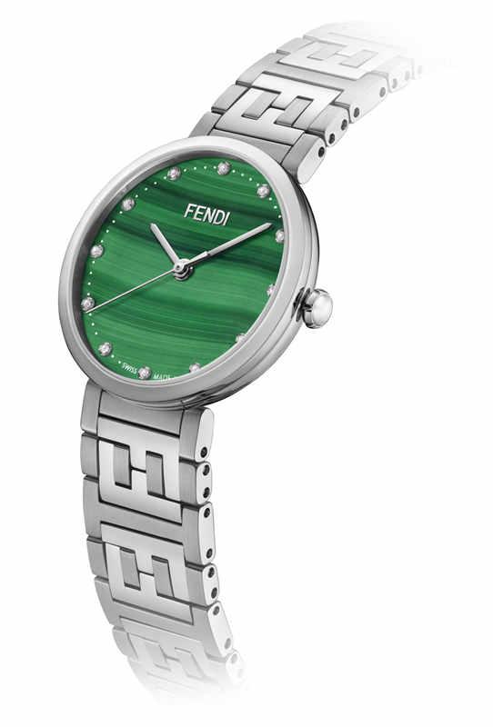 Fendi Timepieces为其Forever Fendi系列引入新款表壳