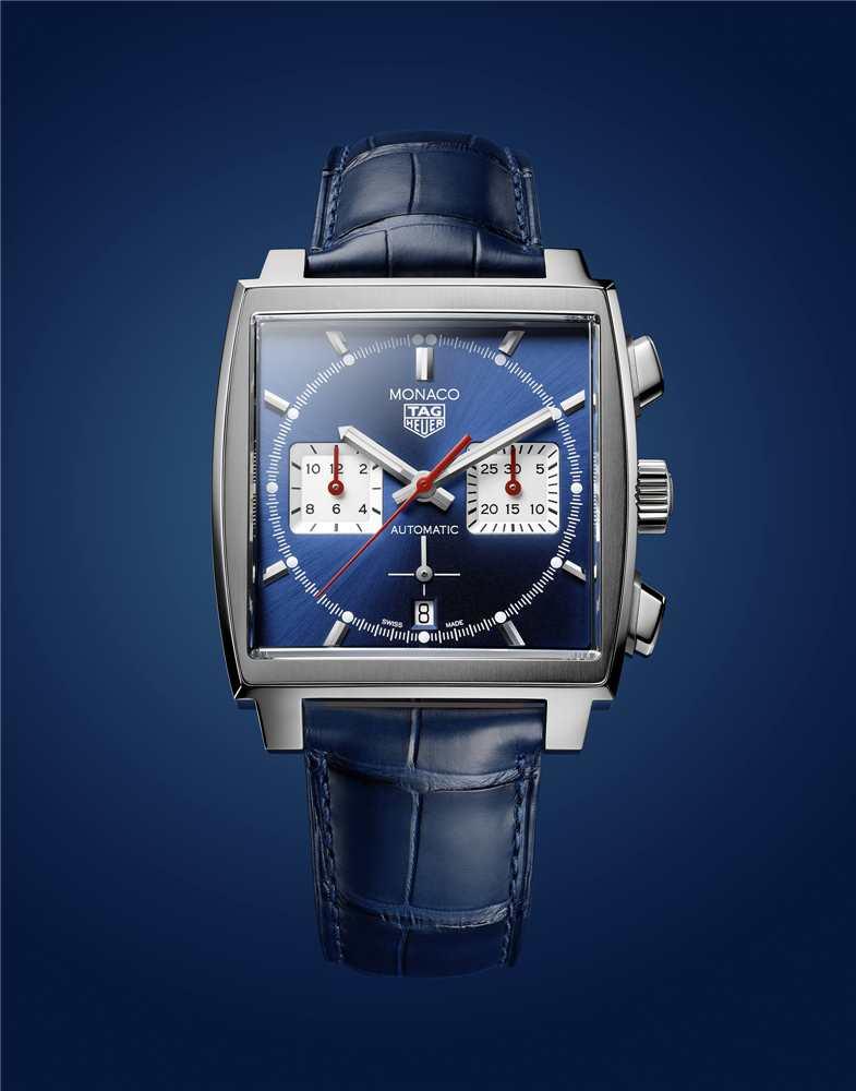 泰格豪雅Monaco腕表搭载全新自制机芯,引领前卫先锋制表技艺