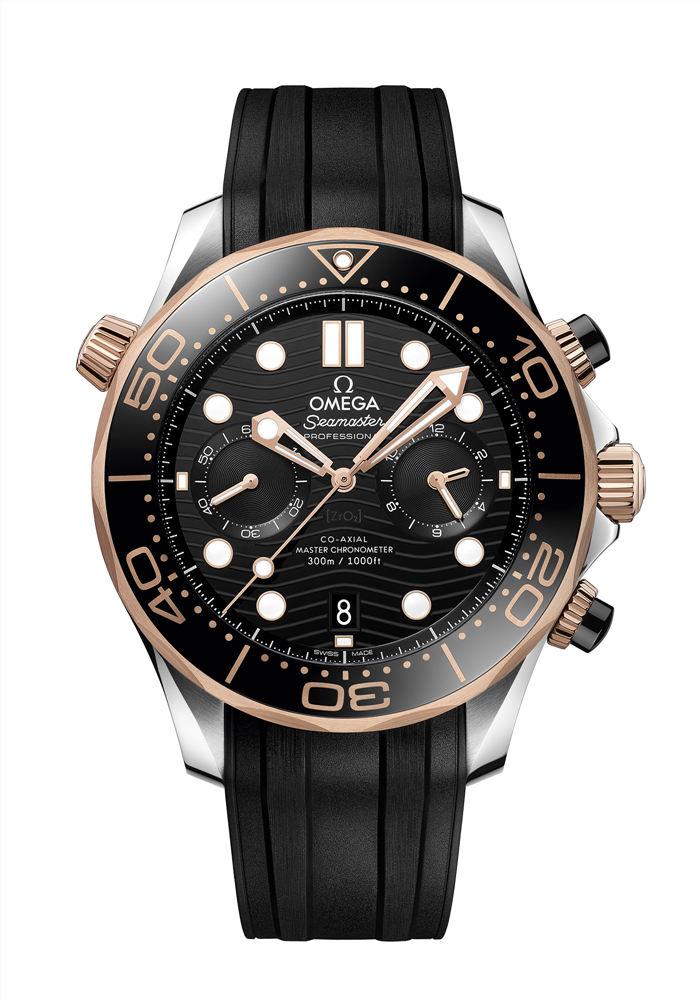 潜水时计创新融合——欧米茄全新海马系列300米潜水计时表