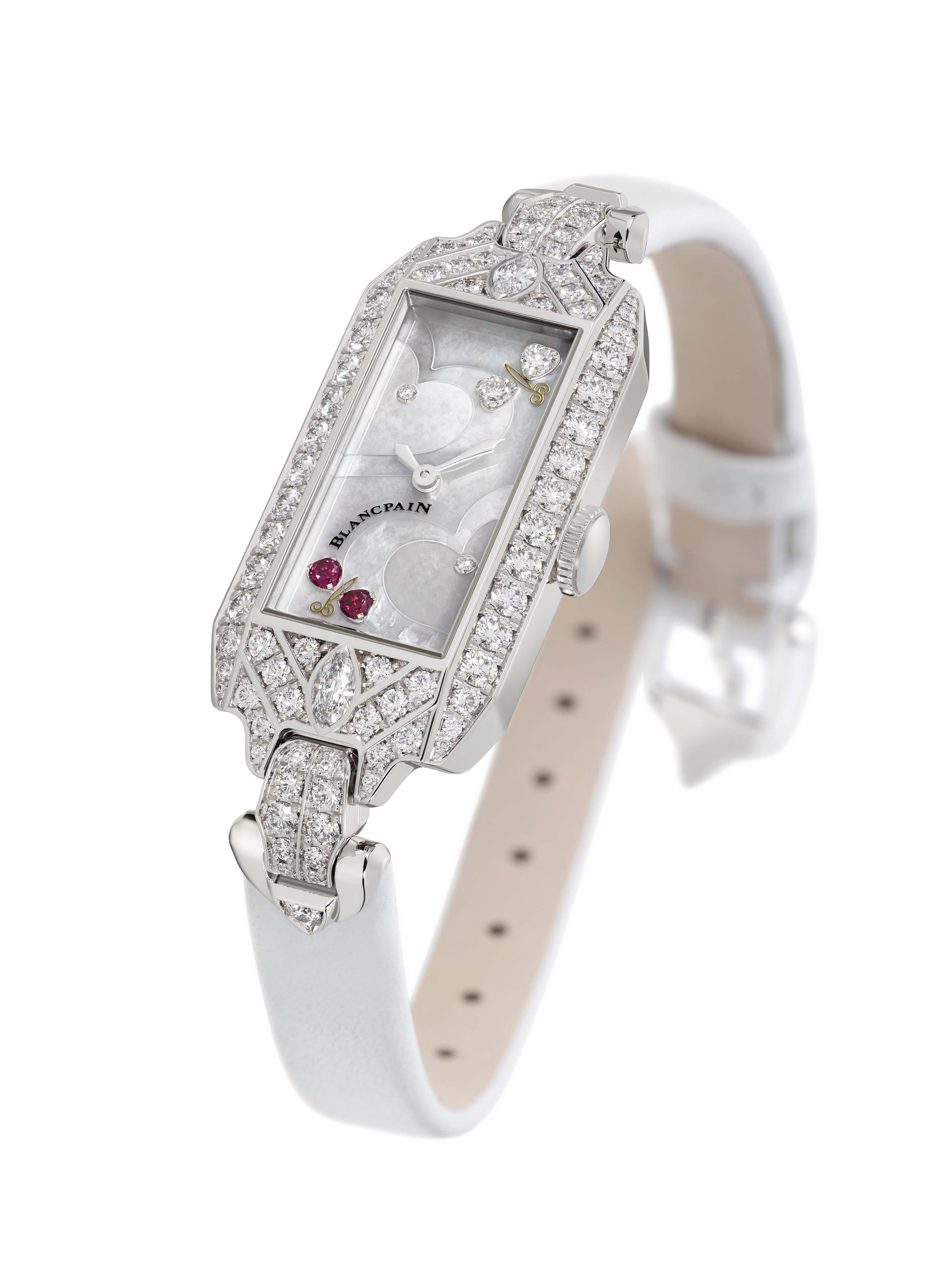 宝珀全新情人节限量款鸡尾酒腕表——腕间珍宝,献礼爱情
