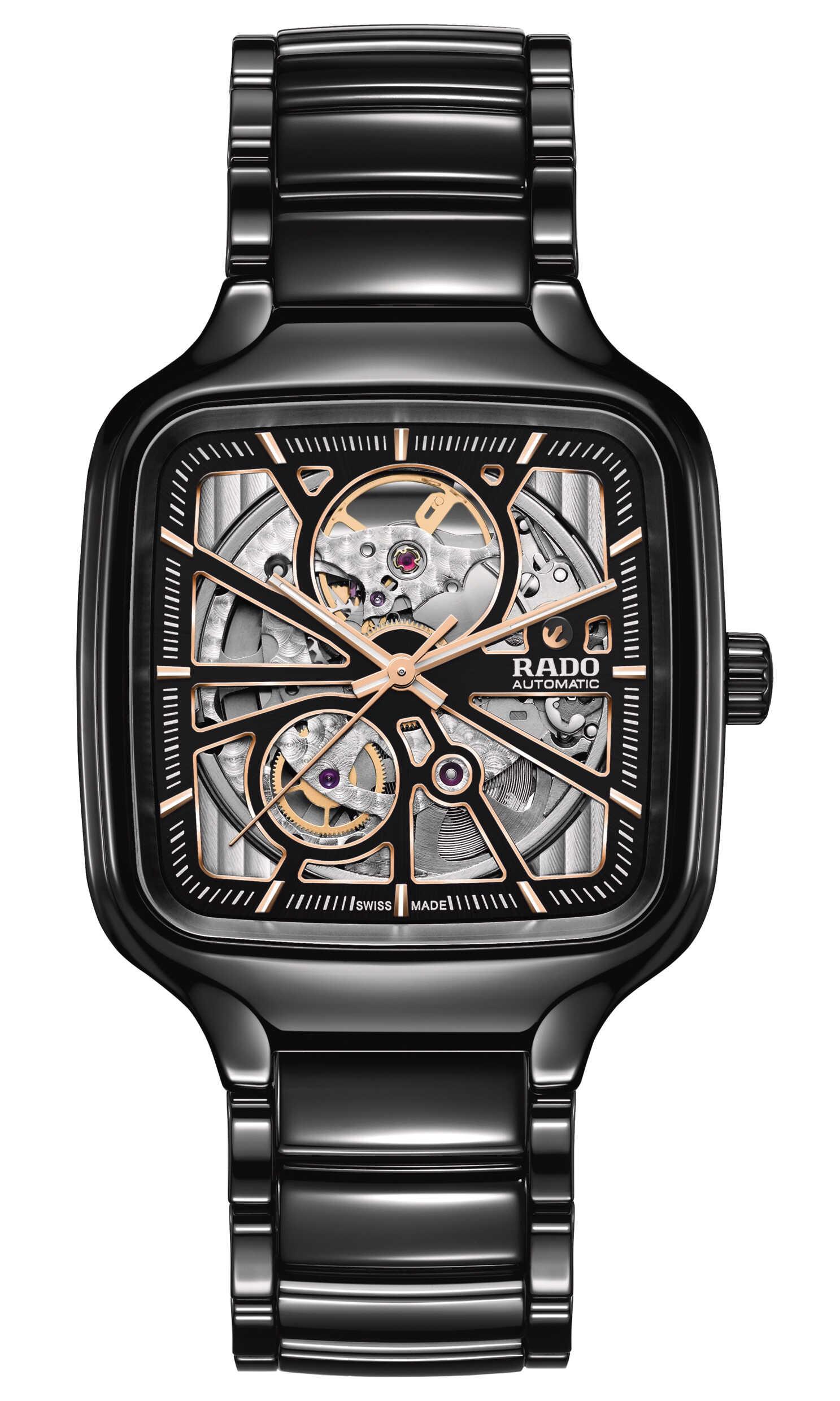 倾听芯之声 Rado瑞士雷达表True真系列真我开芯腕表
