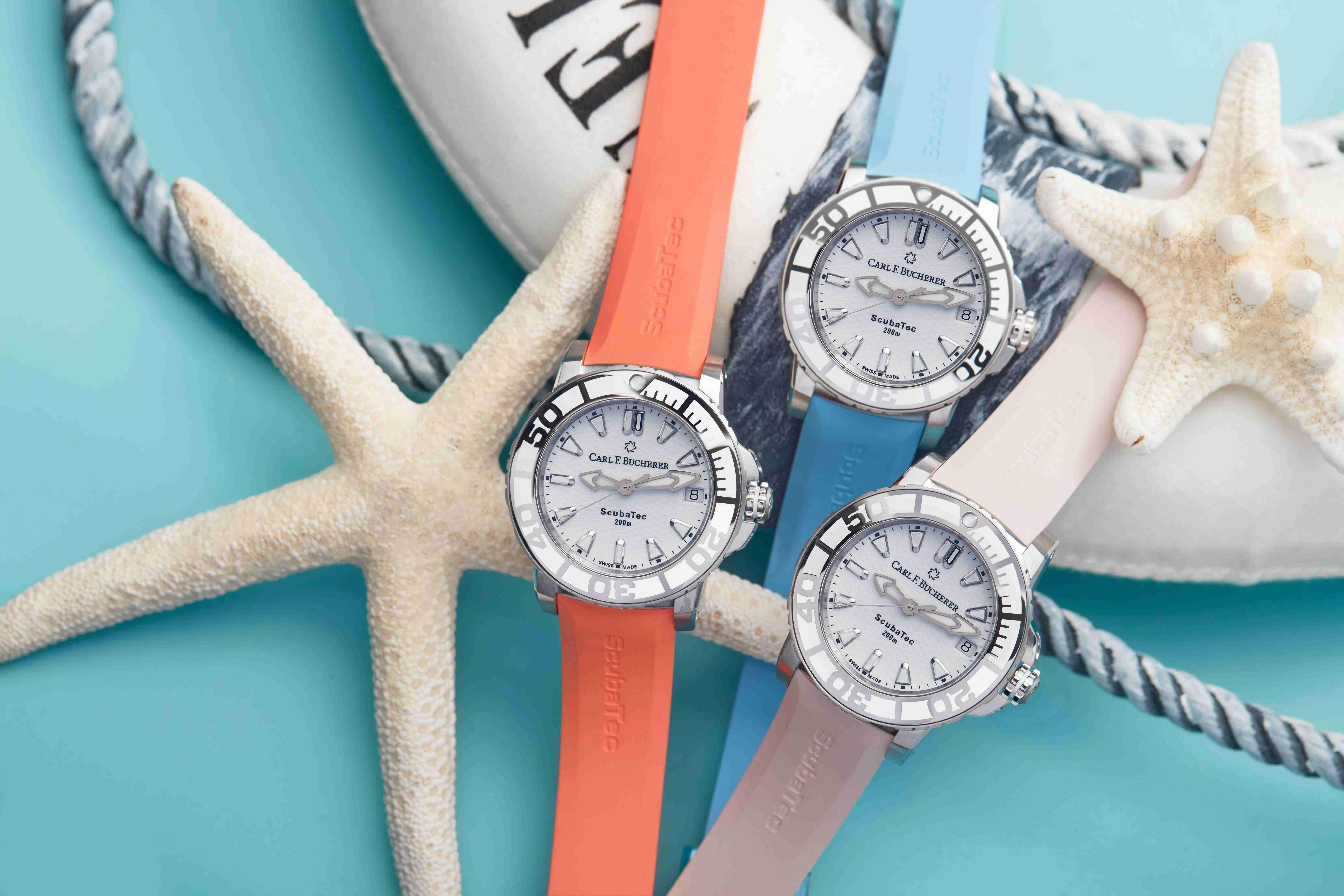 戴在腕上,感受海洋——宝齐莱柏拉维深潜女装腕表感恩海洋日