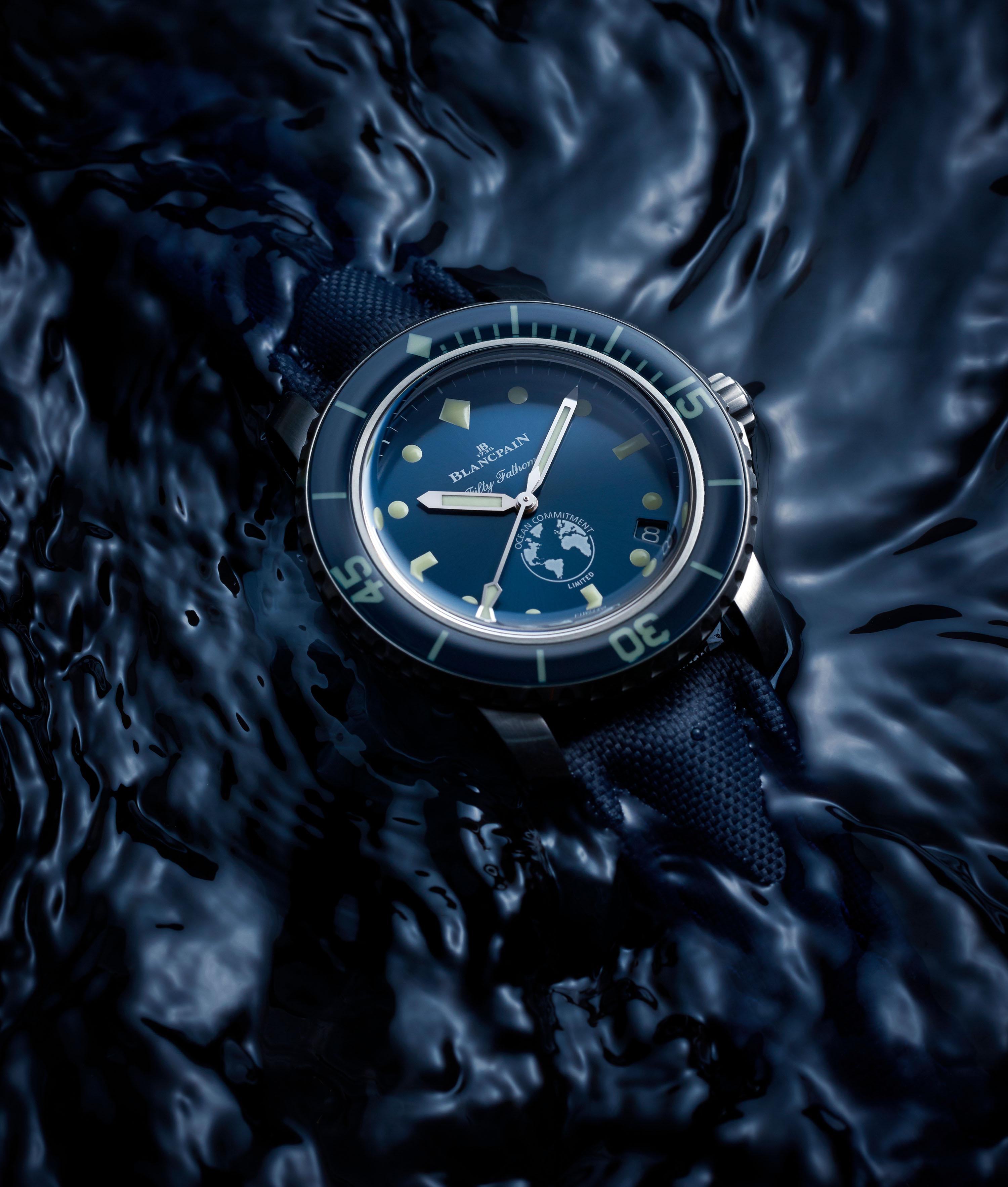 """宝珀五十噚倾情呈现《怒海狂鲨》 ——2020年世界海洋日,与宝珀一起""""心系海洋"""""""