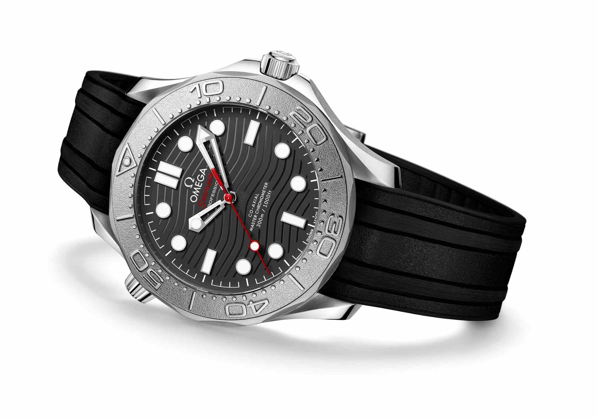 助力海洋保护——欧米茄海马系列300米潜水表Nekton特别版